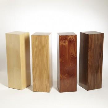 Hardwood Plinths by Artplinths. Display Pedestals Custom made, London