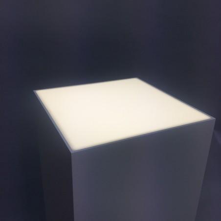 Lightbox|Opal LED plinth