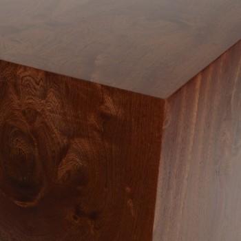 Mahogany real wood plinth