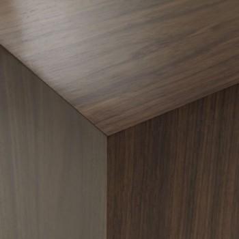 Walnut hardwood plinths