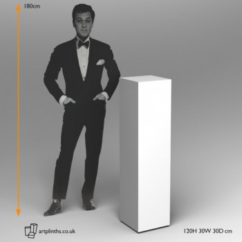 Plinths for sale width and depth 30cm verious heights