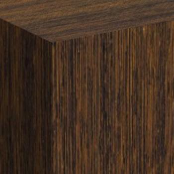 Wenge dark wood plinths