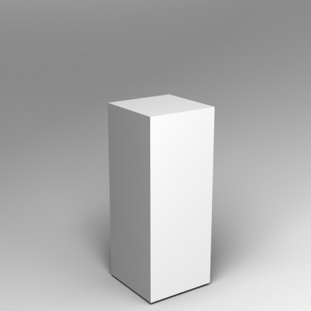 Painted Plinth Hire
