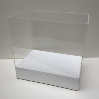 hire perspex display cases