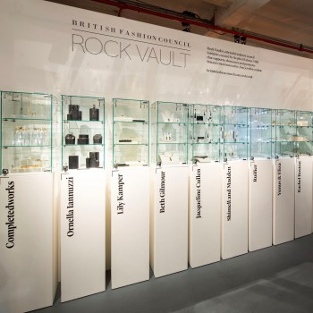 Hire glass showcases