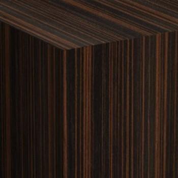 ebony  plinths, man made veneer style