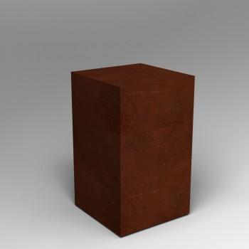 Steel plinth Artplinths Corton Style plinths and pedestals