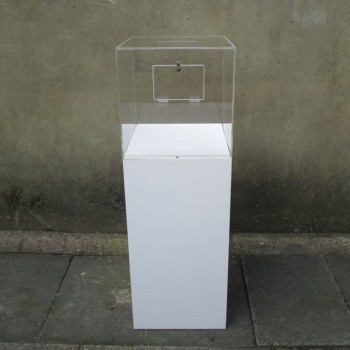 Collection box for galleries and charitable events