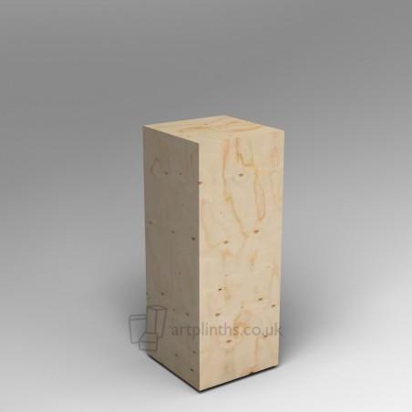 Spruce Plywood plinths